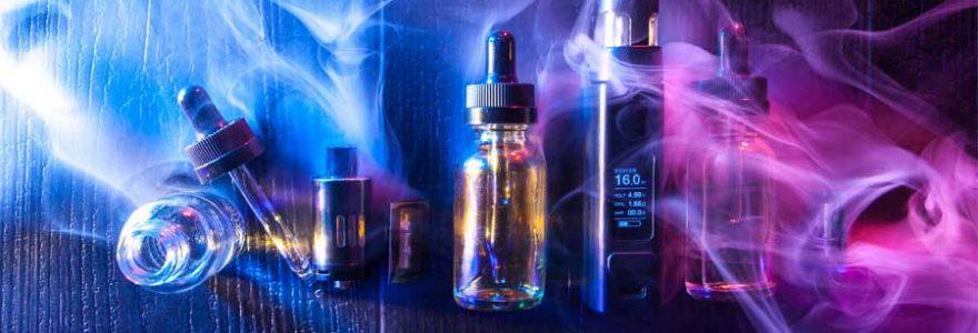 mélanges d'e-liquides