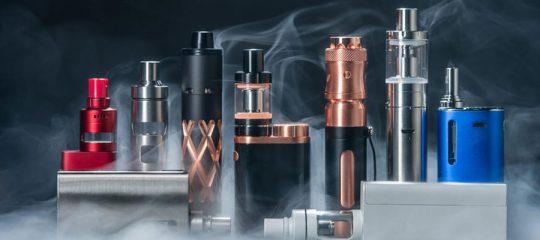 Achat en ligne de cigarettes électroniques et d'accessoires
